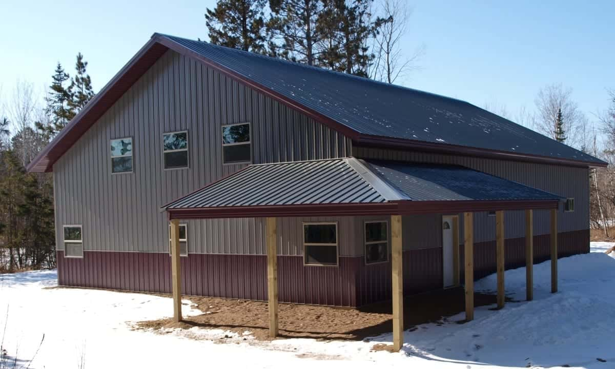 Choose Post Frame Construction For Your Home Or Cabin