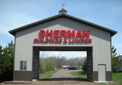 Sherman Entrance