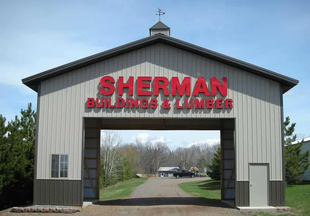 Sherman Entrance