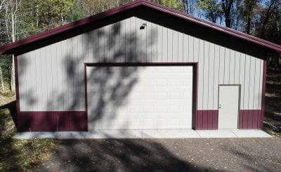 picture of a custom pole barn