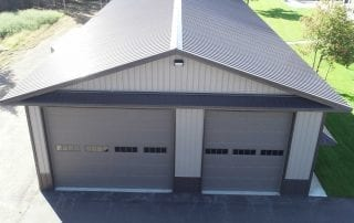 Pole Shed Garage by Sherman