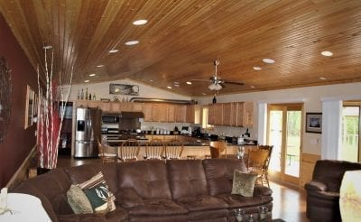 Interior Pole Barn Home