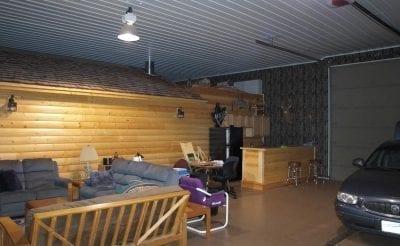 Interior Pole Building