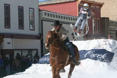 Skijoring Is Not Boring