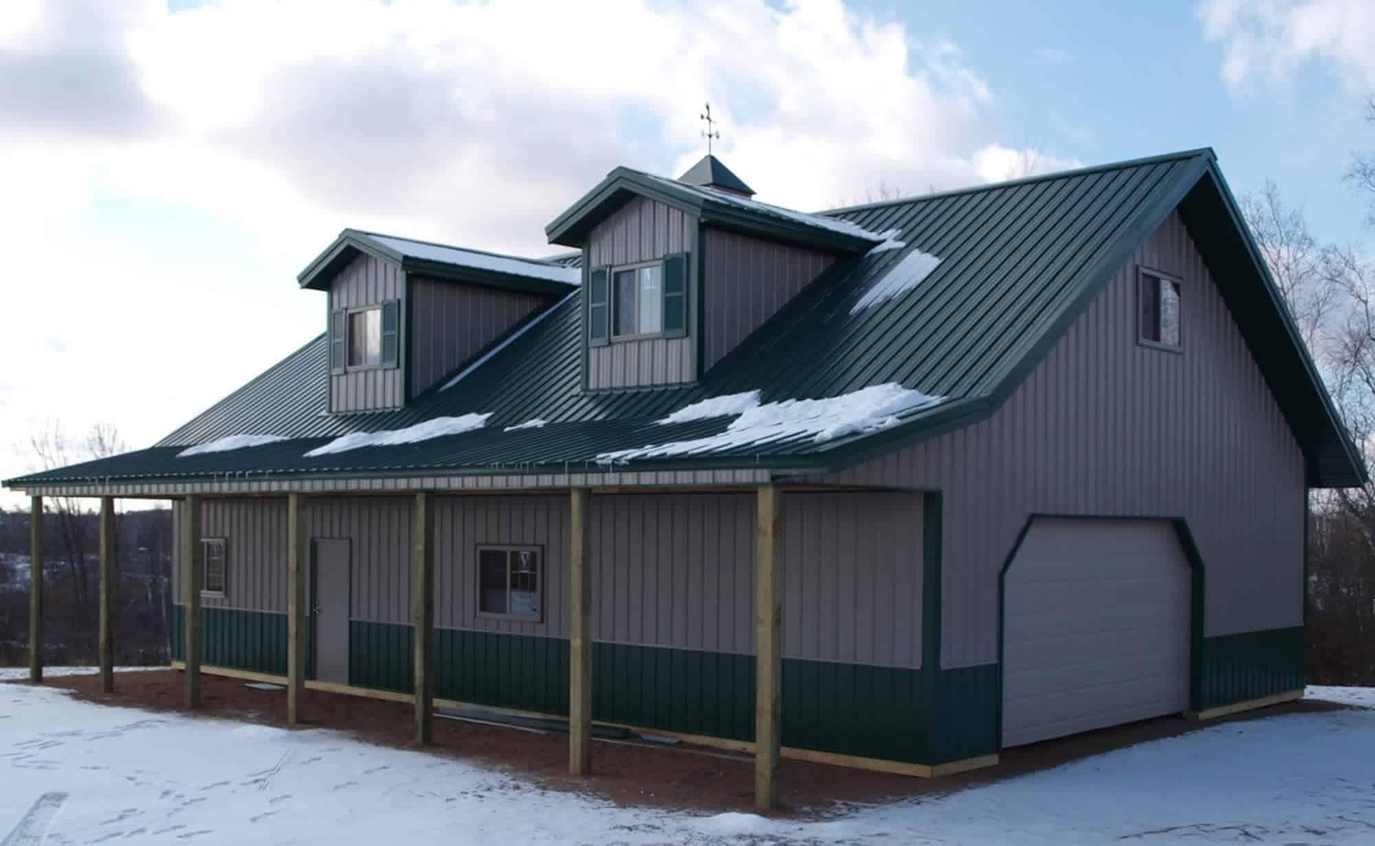 pole barn home picture