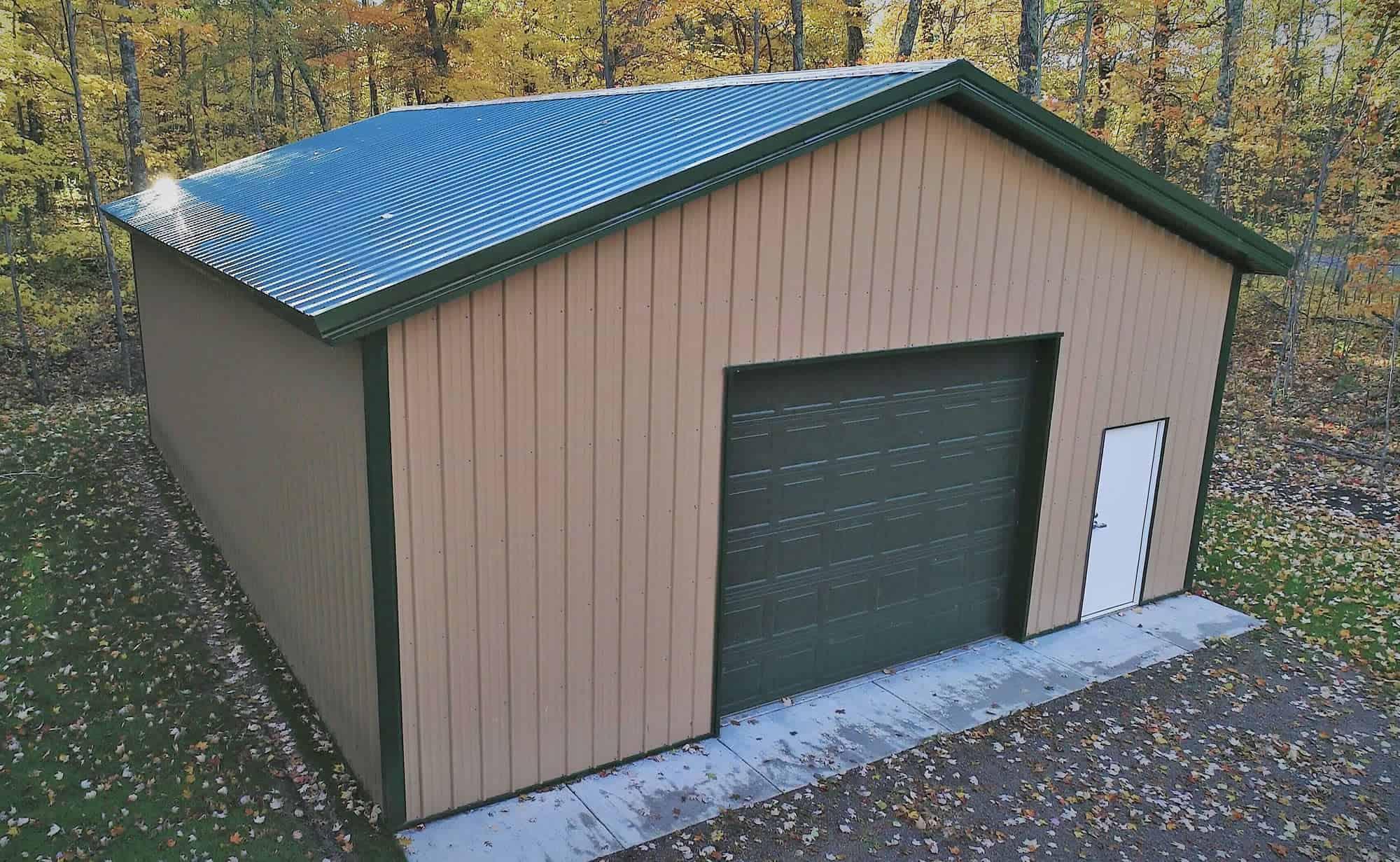 Pole Barn House | Sherman Pole Buildings | Metal Building Homes