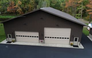 pole barn garage doors