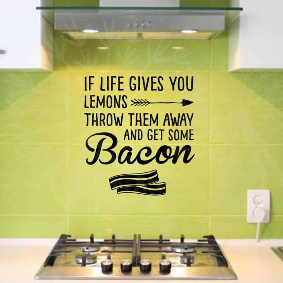 Trade lemons for bacon