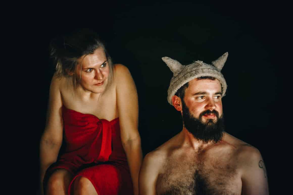 Vikings in Sauna