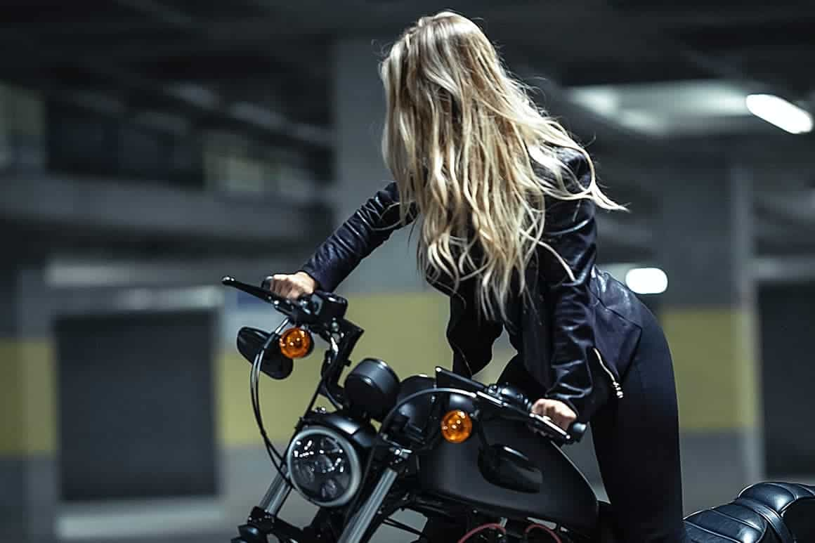 Motorcycle Woman
