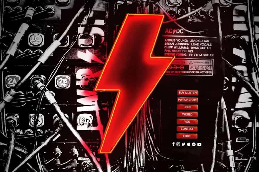 AC/DC Website