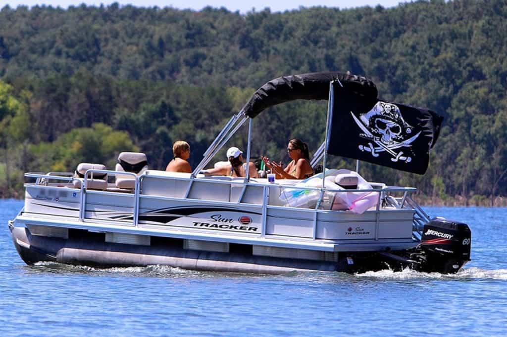 pirating pontoon