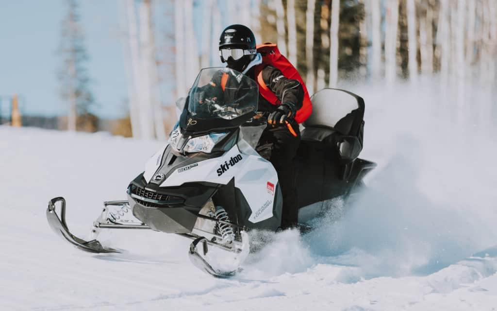 Snowmobiling in Brainerd